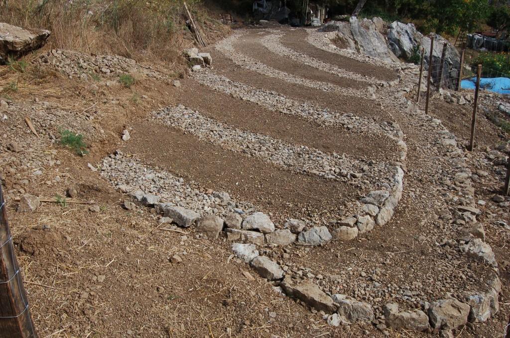 Tenacia | Creazione dei solchi di drenaggio/camminatoi