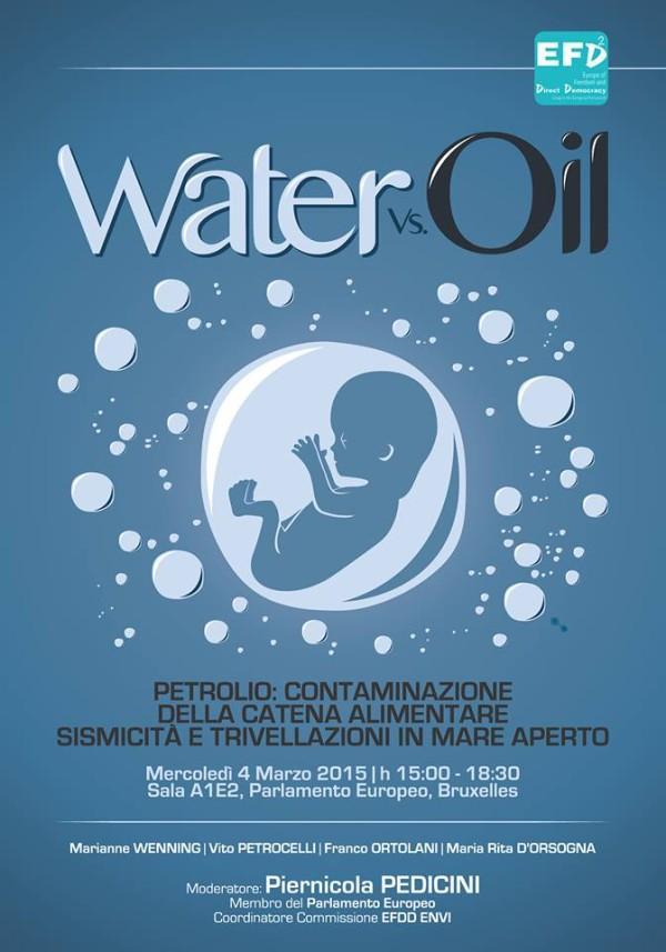 Water Vs Oil