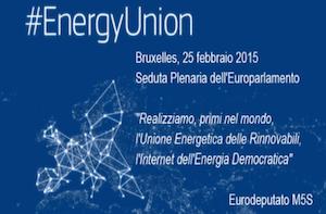 #EnergyUnion – L'Unione Energetica delle Rinnovabili – l'Internet dell'Energia Democratica