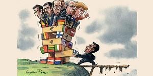 Prendono a pedate la Grecia. La sostanziale menzogna dell'Eurogruppo