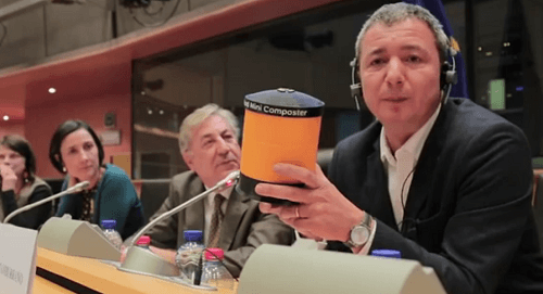 Economia circolare e i lombrichi in regalo al commissario UE Vella
