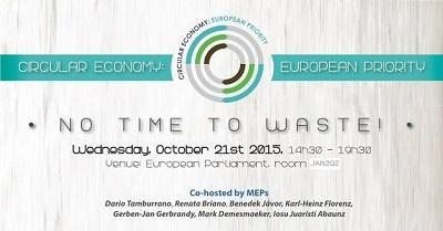 Portiamo a Bruxelles l'economia circolare. Mercoledì 21 ottobre convegno in streaming