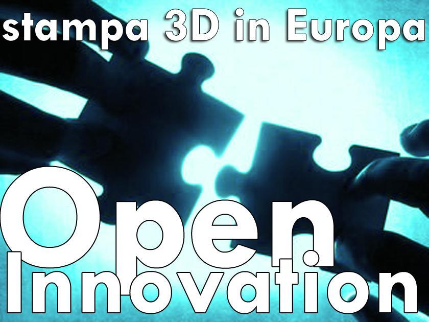 Modulo di preiscrizione e inserimento in lista di attesa per Open Innovation e stampa 3D in UE (edizione 2015)