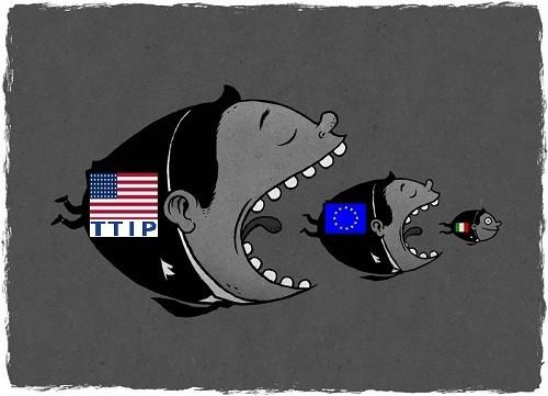 TTIP e agricoltura, un rapporto ufficiale USA prevede che il trattato porterà grandi svantaggi all'UE