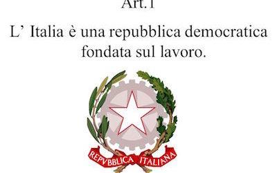 """""""L'Italia è una Repubblica democratica, fondata sul lavoro"""". E i robot?"""