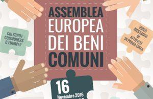 Piattaforma UE dei Beni Comuni. Assemblea al Parlamento Europeo