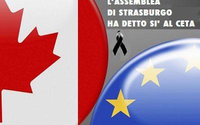 Il Parlamento Europeo approva il CETA, ma i parlamenti nazionali possono ancora stracciare il trattato