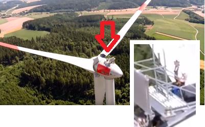 """""""Vivere d'Aria"""" in Spagna con la turbina eolica di proprietà condivisa"""