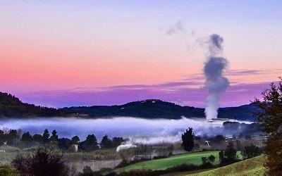 Geotermia flash in Toscana, quanto mercurio emettono le centrali?
