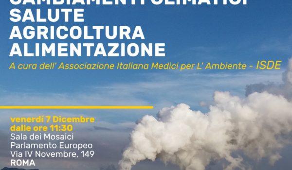 L'ISDE – Associazione Medici per l'Ambiente – e i cambiamenti climatici