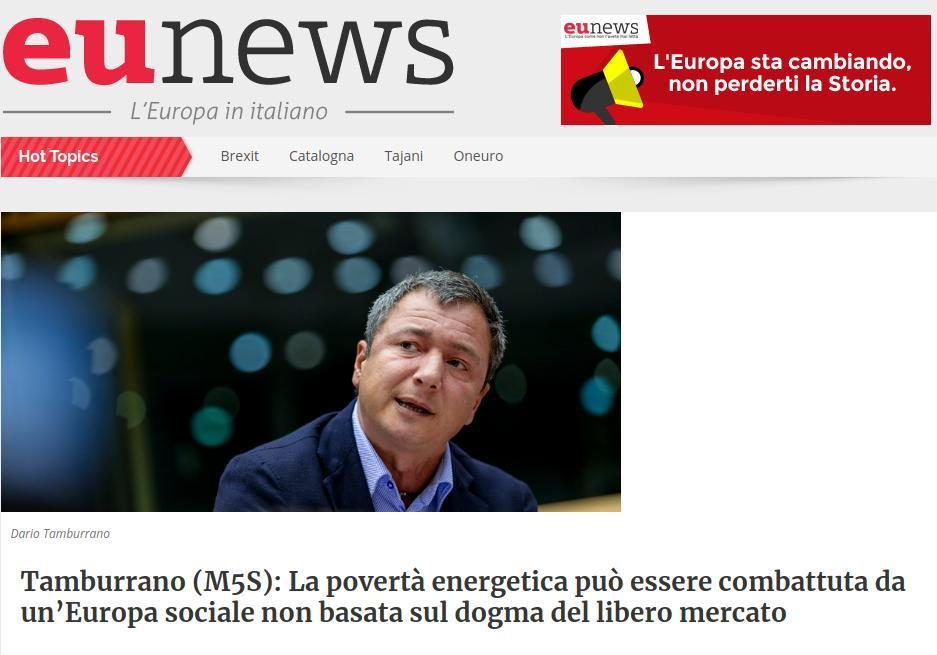 La povertà energetica può essere combattuta da un'Europa sociale non basata sul dogma del libero mercato